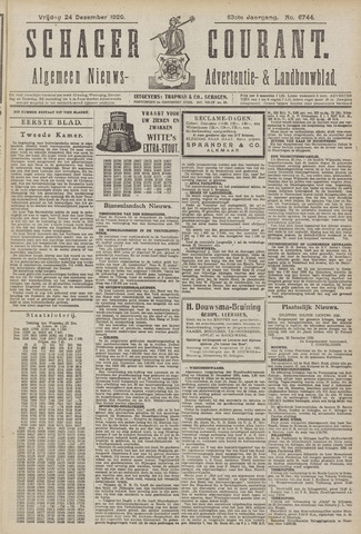 Schager Courant 1920-12-24