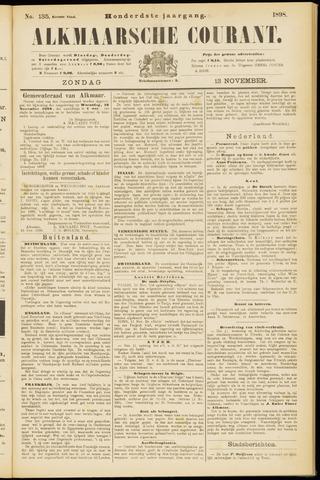 Alkmaarsche Courant 1898-11-13