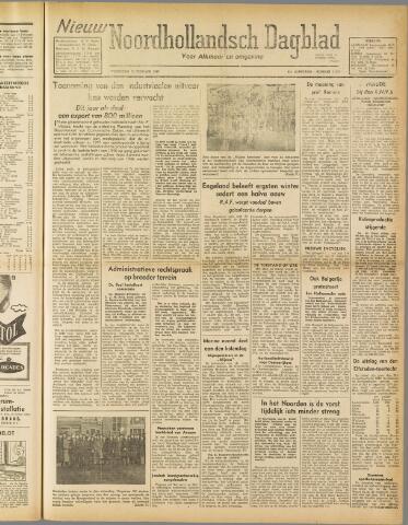Nieuw Noordhollandsch Dagblad : voor Alkmaar en omgeving 1947-02-12