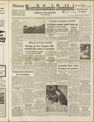 Nieuw Noordhollandsch Dagblad : voor Alkmaar en omgeving 1951-12-24