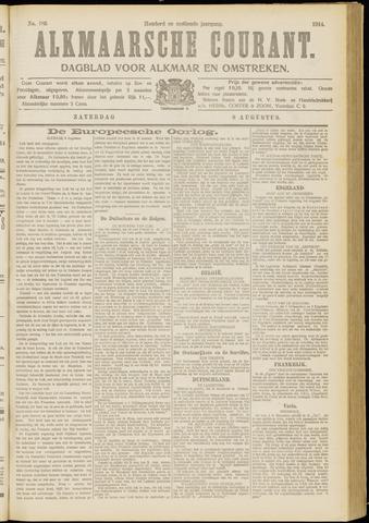 Alkmaarsche Courant 1914-08-08
