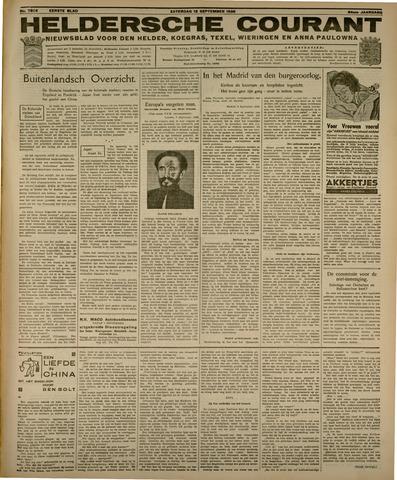 Heldersche Courant 1936-09-12