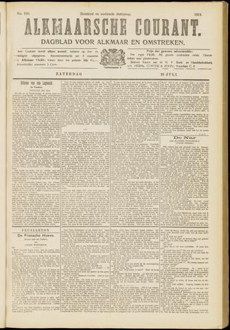 Alkmaarsche Courant 1914-07-18
