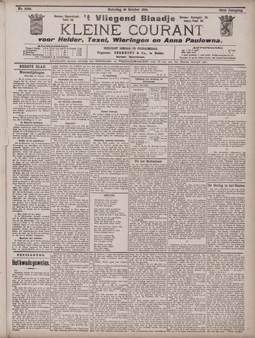 Vliegend blaadje : nieuws- en advertentiebode voor Den Helder 1904-10-29