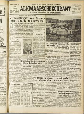 Alkmaarsche Courant 1955-10-11