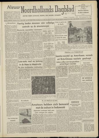 Nieuw Noordhollandsch Dagblad : voor Alkmaar en omgeving 1948-11-05