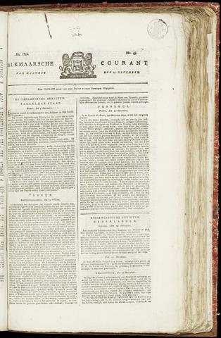 Alkmaarsche Courant 1820-11-27
