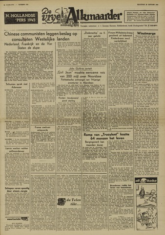 De Vrije Alkmaarder 1950-01-16