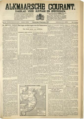 Alkmaarsche Courant 1937-09-09