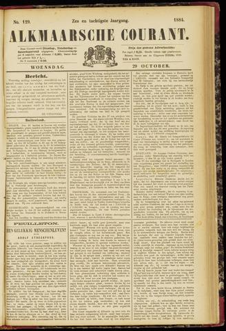 Alkmaarsche Courant 1884-10-29