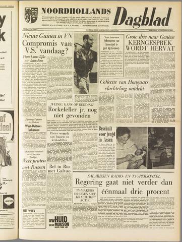Noordhollands Dagblad : dagblad voor Alkmaar en omgeving 1961-11-22