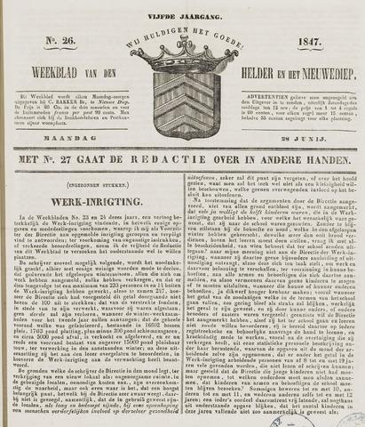 Weekblad van Den Helder en het Nieuwediep 1847-06-28