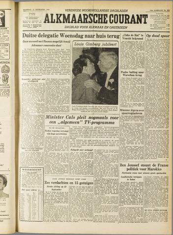 Alkmaarsche Courant 1955-09-12