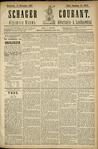 Schager Courant 1895-11-14