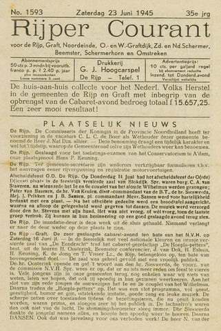 Rijper Courant 1945-06-23