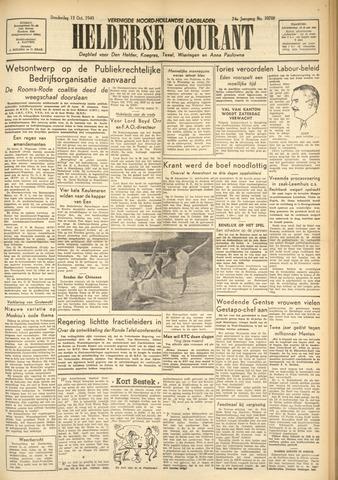 Heldersche Courant 1949-10-13