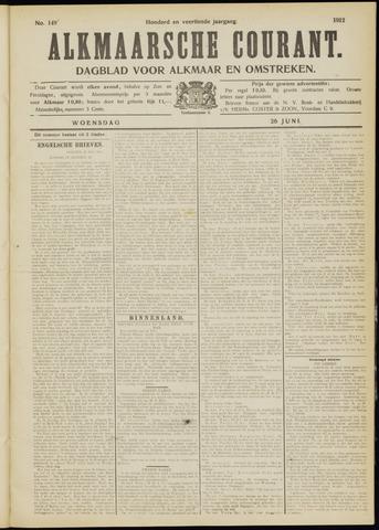 Alkmaarsche Courant 1912-06-26