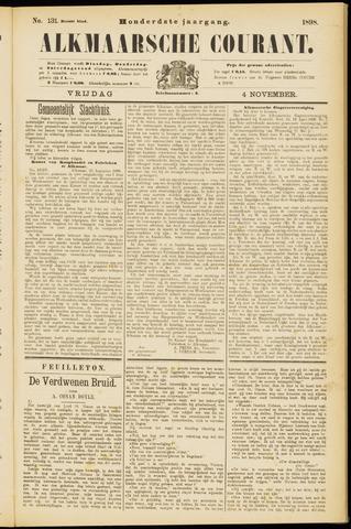 Alkmaarsche Courant 1898-11-04