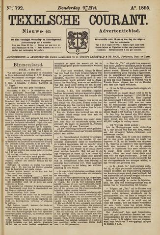 Texelsche Courant 1895-05-09