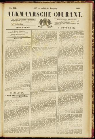 Alkmaarsche Courant 1883-11-07