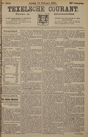 Texelsche Courant 1915-02-14