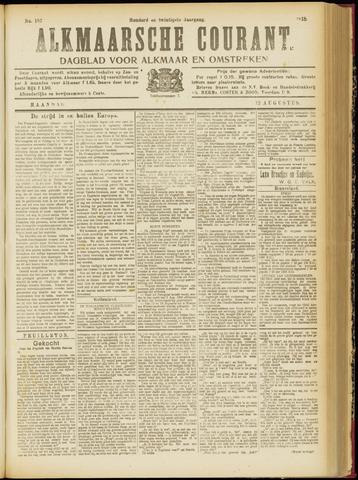 Alkmaarsche Courant 1918-08-12