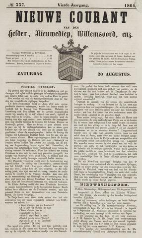 Nieuwe Courant van Den Helder 1864-08-20