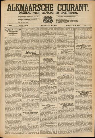 Alkmaarsche Courant 1930-05-05
