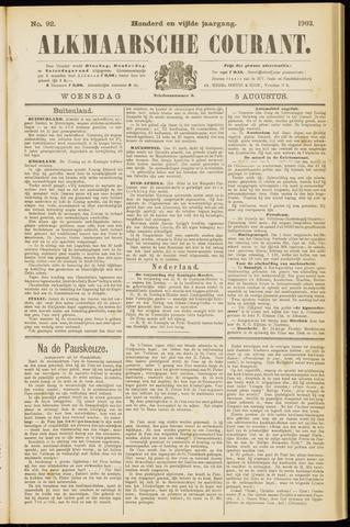 Alkmaarsche Courant 1903-08-05