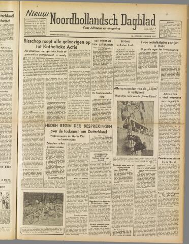 Nieuw Noordhollandsch Dagblad : voor Alkmaar en omgeving 1947-01-14