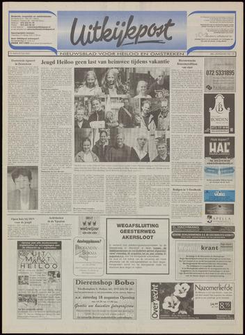 Uitkijkpost : nieuwsblad voor Heiloo e.o. 2001-08-15