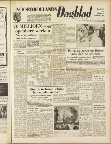 Noordhollands Dagblad : dagblad voor Alkmaar en omgeving 1953-06-23