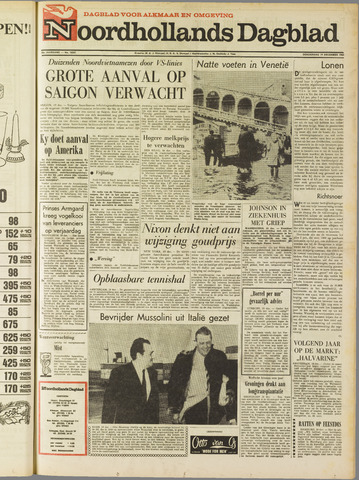 Noordhollands Dagblad : dagblad voor Alkmaar en omgeving 1968-12-19