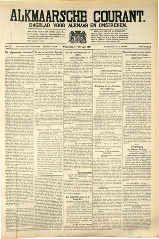 Alkmaarsche Courant 1937-02-03