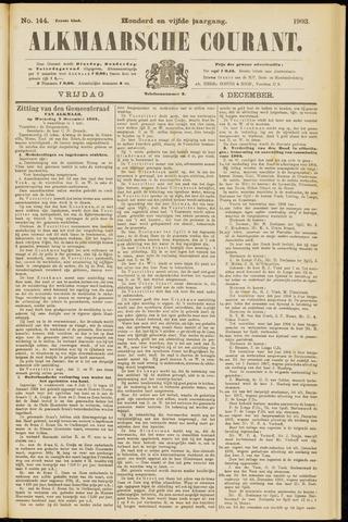 Alkmaarsche Courant 1903-12-04