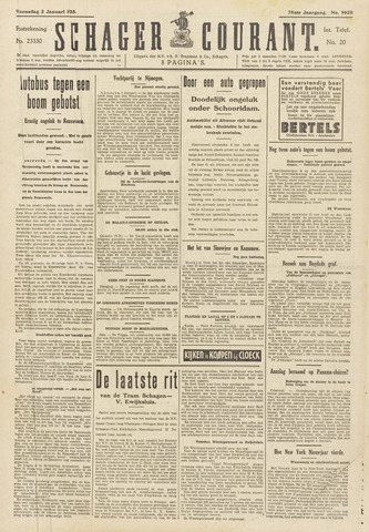 Schager Courant 1935