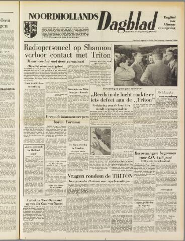 Noordhollands Dagblad : dagblad voor Alkmaar en omgeving 1954-09-07