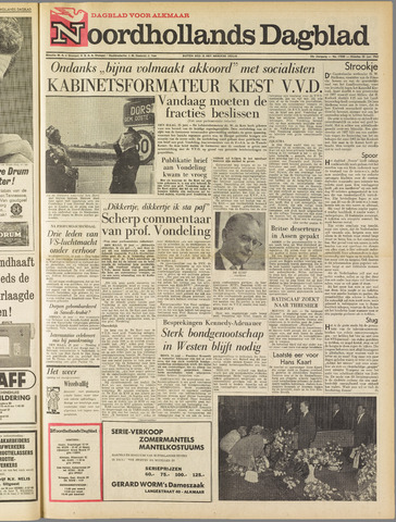 Noordhollands Dagblad : dagblad voor Alkmaar en omgeving 1963-06-25