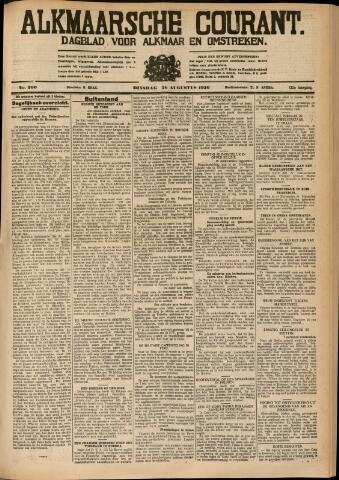Alkmaarsche Courant 1930-08-26