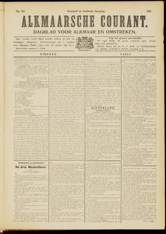 Alkmaarsche Courant 1911-07-04