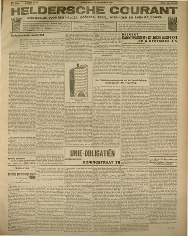 Heldersche Courant 1931-11-12