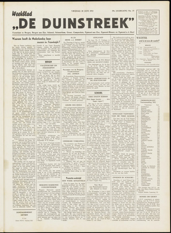De Duinstreek 1952-06-20