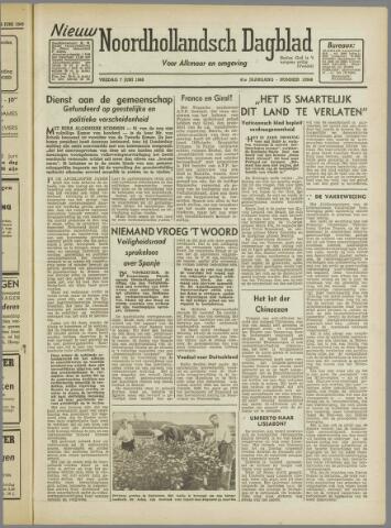 Nieuw Noordhollandsch Dagblad : voor Alkmaar en omgeving 1946-06-07
