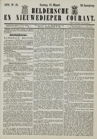 Heldersche en Nieuwedieper Courant 1870-03-13