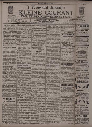 Vliegend blaadje : nieuws- en advertentiebode voor Den Helder 1894-11-28