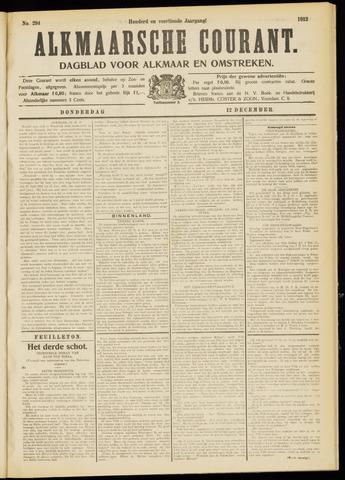 Alkmaarsche Courant 1912-12-12