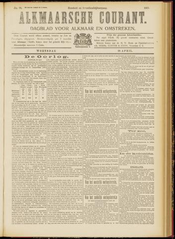 Alkmaarsche Courant 1915-04-28