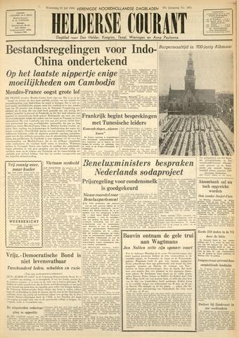 Heldersche Courant 1954-07-21