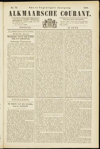 Alkmaarsche Courant 1889-06-23