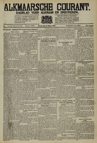 Alkmaarsche Courant 1937-03-18